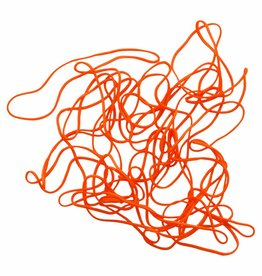 Orange 02 Oranje elastiek Lengte 50 mm, Breedte 4 mm