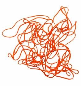 Orange 04 Oranje elastiek Lengte 50 mm, Breedte 8 mm