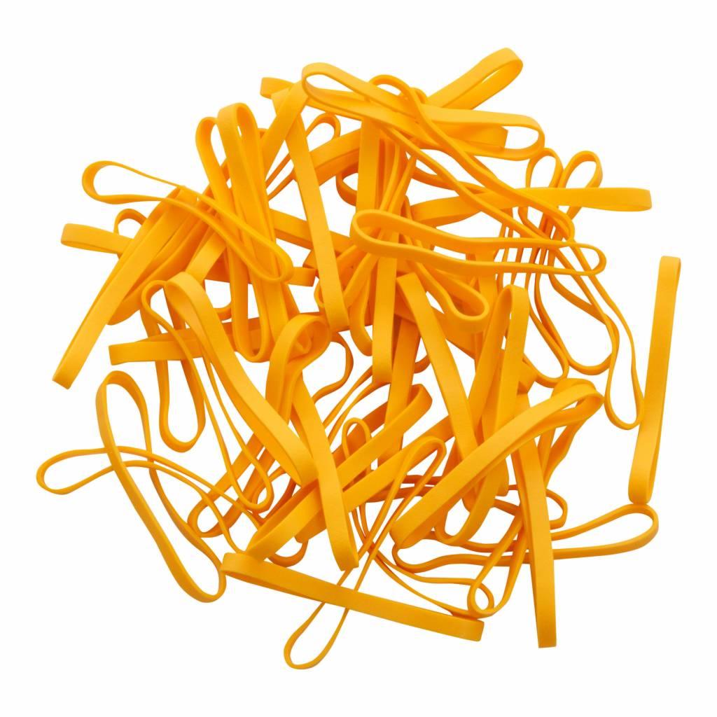 Yellow 19 Geel elastiek Lengte 140 mm, Breedte 10 mm
