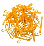 Yellow 04 Jaune élastique longueur 50 mm, largeur 8 mm