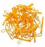 Yellow 02 Jaune élastique longueur 50 mm, largeur 4 mm