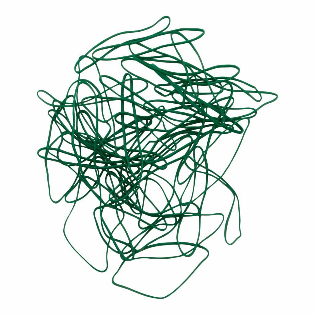 Green 04 Groen elastiek Lengte 50 mm, Breedte 8 mm