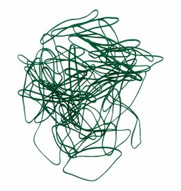 Green 08 Green elastic Length 90 mm, width 2 mm