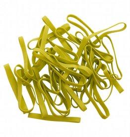 Lime green 10 Limegroen elastiek Lengte 90 mm, Breedte 6 mm