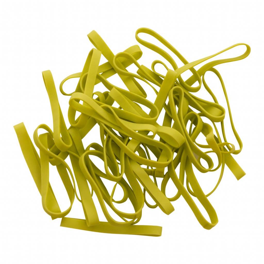 Lime green 08 Limegroen elastiek Lengte 90 mm, Breedte 2 mm