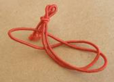 knotted elasticcord