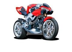 Modelmotoren schaal 1:18