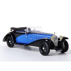 Ixo Models Modelauto Delage D8SS 1932 zwart/blauw 1:43 | Ixo Models