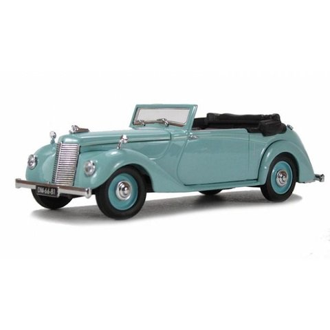 Model car Armstrong Siddeley Hurricane turquoise 1:43   Oxford Diecast
