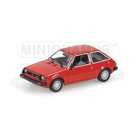 Minichamps Modelauto Mitsubishi Colt 1978 rood 1:43 | Minichamps