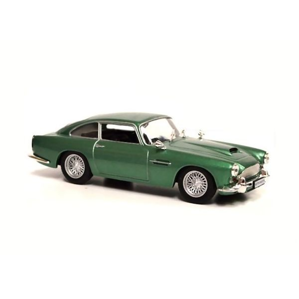 Modelauto Aston Martin DB4 Coupe groen metallic 1:43   De Agostini