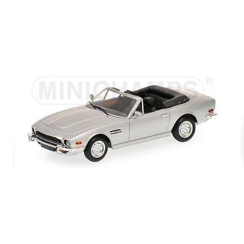 Modelauto Aston Martin V8 Volante 1987 zilver 1:43 | Minichamps