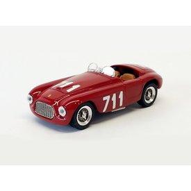 Art Model Modellauto Ferrari 166 MM No. 711 1950 rot 1:43 | Art Model