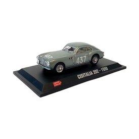 Hachette Modelauto Cisitalia 202 No. 437 1950 zilver 1:43 | Hachette