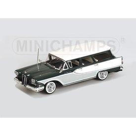 Minichamps Modellauto Edsel Bermuda Station Wagon 1958 grün/weiß 1:43 | Minichamps