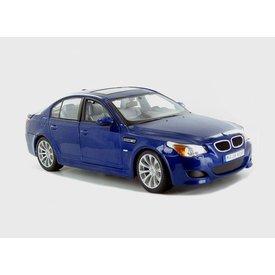 Maisto Modelauto BMW M5 blauw 1:18 | Maisto