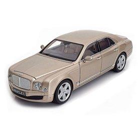 Modelauto Bentley Mulsanne champagne 1:18 | Rastar