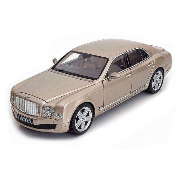 Model car Bentley Mulsanne champagne 1:18   Rastar