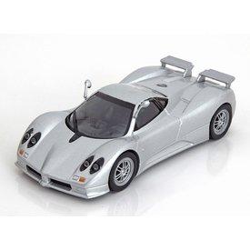 De Agostini Model car Pagani Zonda C12S silver 1:43 | De Agostini
