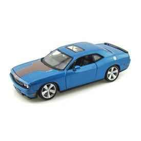 Maisto Model car Dodge Challenger SRT8 2008 blue 1:24 | Maisto
