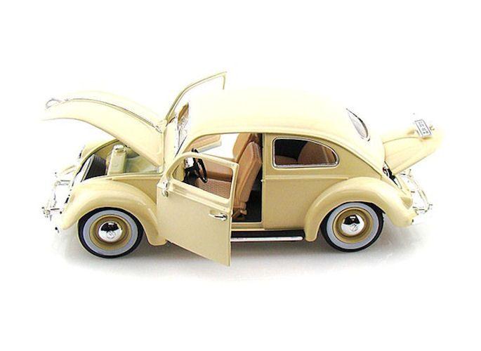 modellauto volkswagen vw k fer 1955 creme 1 18 bburago. Black Bedroom Furniture Sets. Home Design Ideas