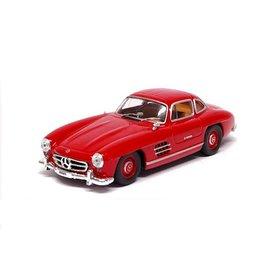 De Agostini Modelauto Mercedes Benz 300 SL Coupe 1954 rood 1:43 | De Agostini