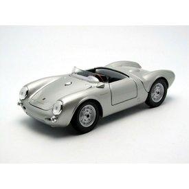 Maisto Modelauto Porsche 550 A Spyder 1950 zilver 1:18 | Maisto
