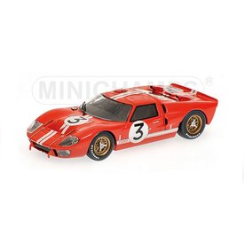 Minichamps Model car Ford GT40 MK II No. 3 1966 red 1:43 | Minichamps