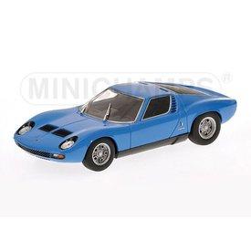 Minichamps Modelauto Lamborghini Miura SV 1971 blauw 1:43 | Minichamps