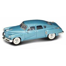 Yat Ming / Lucky Diecast Modelauto Tucker Torpedo 1948 blauw 1:43 | Yat Ming / Lucky Diecast