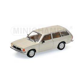 Minichamps Modelauto Opel Kadett C Caravan L 1978 zilver 1:43 | Minichamps