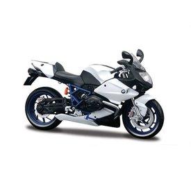 Maisto Modell-Motorrad BMW HP2 Sport weiß/schwarz 1:12 | Maisto