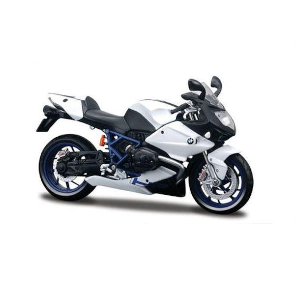 Modell-Motorrad BMW HP2 Sport weiß/schwarz 1:12 | Maisto