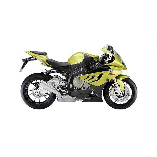 Modell-Motorrad BMW S1000RR grün/schwarz 1:18 | Maisto