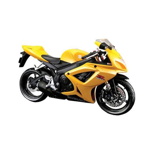 Modell-Motorrad Suzuki GSX-R 600 - Gelb - 1:12 #20-06183 Y