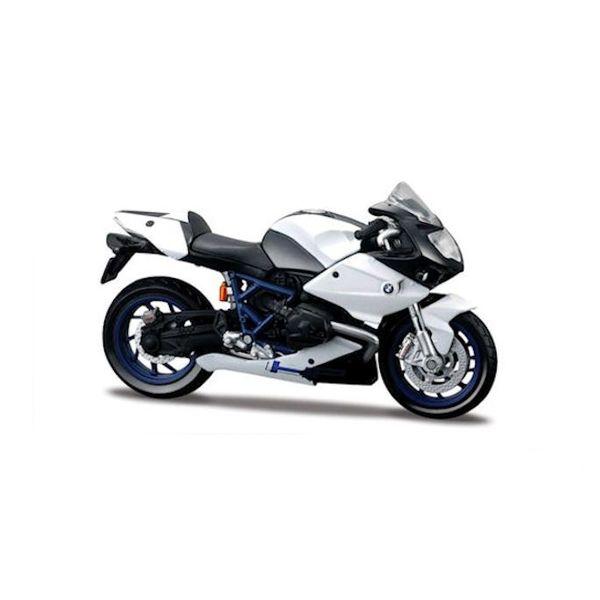 Modell-Motorrad BMW HP2 Sport weiß/schwarz 1:18 | Maisto