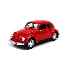 Maisto Modelauto Volkswagen VW Kever rood 1:24 | Maisto