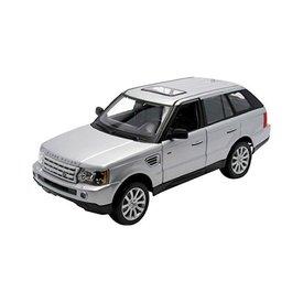 Maisto Modelauto Land Rover Range Rover Sport zilver 1:18 | Maisto