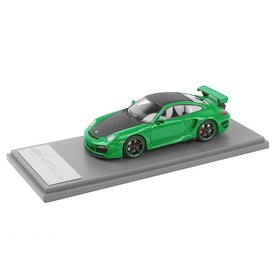 TechArt Modellauto Porsche 911 (997) TechArt GT Street grün/schwarz 1:43 | TechArt