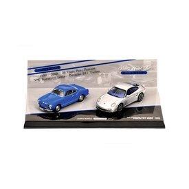 Minichamps Modelauto Porsche 911 Turbo & Volkswagen VW Karmann Ghia Coupe | Minichamps