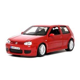 Maisto Modelauto Volkswagen VW Golf R32 rood 1:24 | Maisto