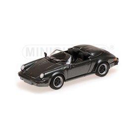 Minichamps Modelauto Porsche 911 Speedster 1988 grijs metallic 1:43 | Minichamps