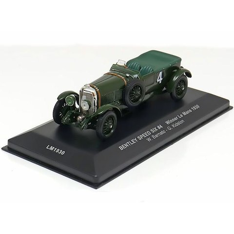 Modelauto Bentley Speed Six No. 4 1930 groen 1:43 | Ixo Models