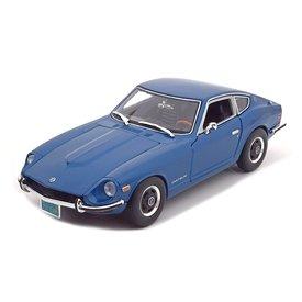 Maisto Modelauto Datsun 240Z 1971 blauw 1:18 | Maisto