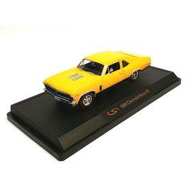 Signature Models Modellauto Chevrolet Nova SS 1969 gelb 1:32 | Signature Models