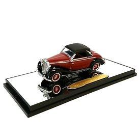 Signature Models Modelauto Mercedes Benz 170S 1950 rood/zwart 1:43 | Signature Models