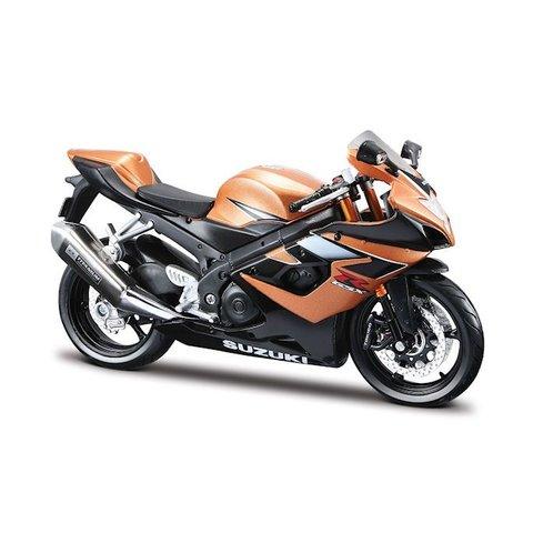 Modell-Motorrad Suzuki GSX-R 1000 gold/schwarz 1:12 | Maisto
