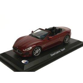 WhiteBox Model car Maserati GranCabrio Sport dark red 1:43 | WhiteBox
