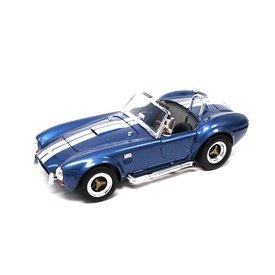 Yat Ming / Lucky Diecast Model car Shelby Cobra 427 S/C 1964 blauw 1:18 | Yat Ming / Lucky Diecast