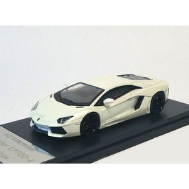Welly Modelauto Lamborghini Aventador LP 700-4 2013 wit 1:43 | Welly GTA